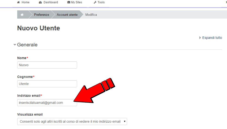 controllare la propria mail