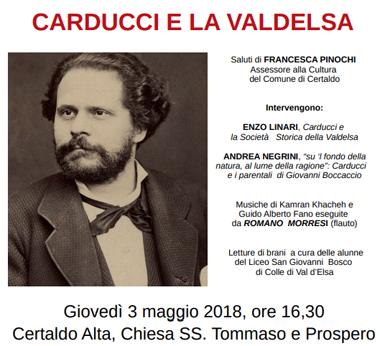 Carducci e la Valdelsa